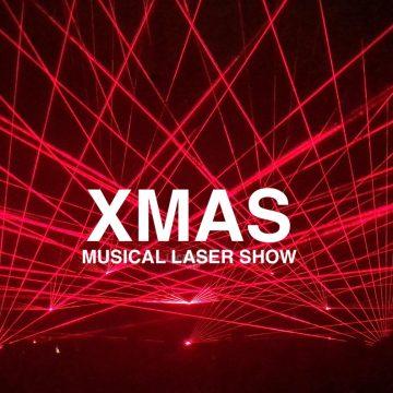 XMAS CHRISTMAS MUSICAL LASER SHOW
